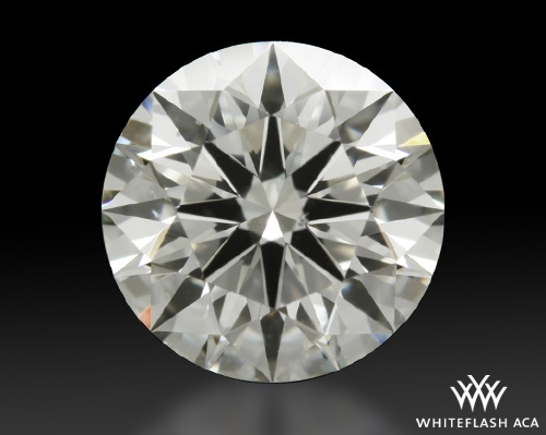 1.053 ct I SI1 A CUT ABOVE® Hearts and Arrows Super Ideal Round Cut Loose Diamond