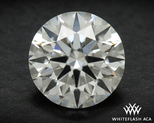 0.42 ct F SI1 A CUT ABOVE® Hearts and Arrows Super Ideal Round Cut Loose Diamond