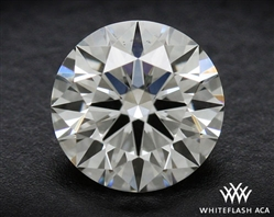 0.41 ct K VS1 A CUT ABOVE® Hearts and Arrows Super Ideal Round Cut Loose Diamond