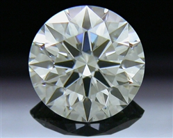 0.378 ct K VS1 A CUT ABOVE® Hearts and Arrows Super Ideal Round Cut Loose Diamond