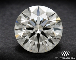 0.41 ct J VS1 A CUT ABOVE® Hearts and Arrows Super Ideal Round Cut Loose Diamond