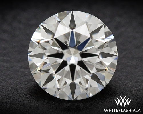 0.623 ct H VS1 A CUT ABOVE® Hearts and Arrows Super Ideal Round Cut Loose Diamond