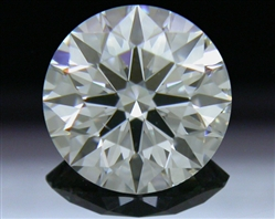 0.608 ct G SI1 A CUT ABOVE® Hearts and Arrows Super Ideal Round Cut Loose Diamond