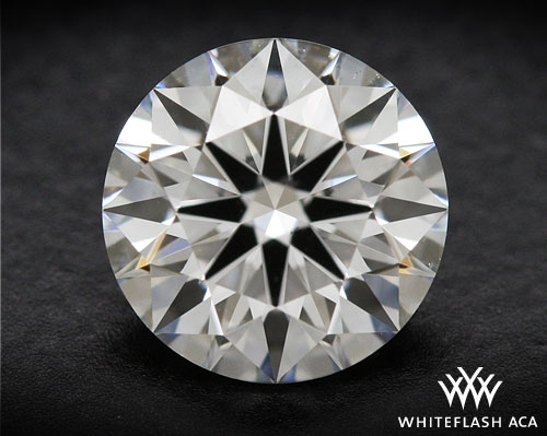 0.641 ct H VS2 A CUT ABOVE® Hearts and Arrows Super Ideal Round Cut Loose Diamond