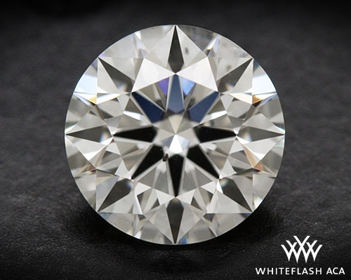 0.628 ct I VS2 A CUT ABOVE® Hearts and Arrows Super Ideal Round Cut Loose Diamond