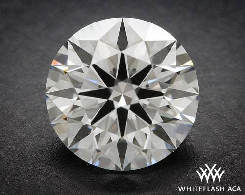 0.903 ct F VS1 A CUT ABOVE® Hearts and Arrows Super Ideal Round Cut Loose Diamond