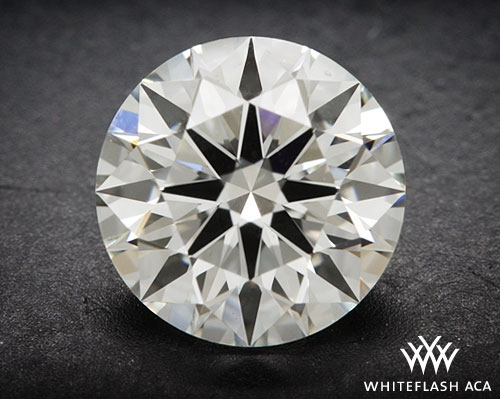 0.942 ct I VS2 A CUT ABOVE® Hearts and Arrows Super Ideal Round Cut Loose Diamond