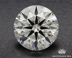 0.922 ct H VS2 A CUT ABOVE® Hearts and Arrows Super Ideal Round Cut Loose Diamond