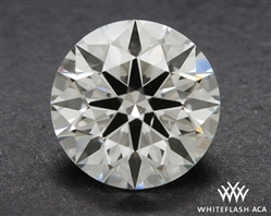 0.914 ct J SI1 A CUT ABOVE® Hearts and Arrows Super Ideal Round Cut Loose Diamond