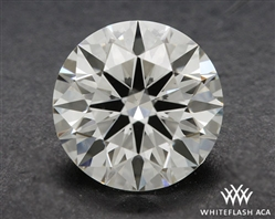 0.907 ct J VS2 A CUT ABOVE® Hearts and Arrows Super Ideal Round Cut Loose Diamond