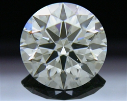 0.582 ct J SI1 A CUT ABOVE® Hearts and Arrows Super Ideal Round Cut Loose Diamond
