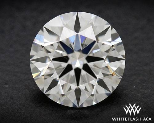 0.808 ct H VS2 A CUT ABOVE® Hearts and Arrows Super Ideal Round Cut Loose Diamond