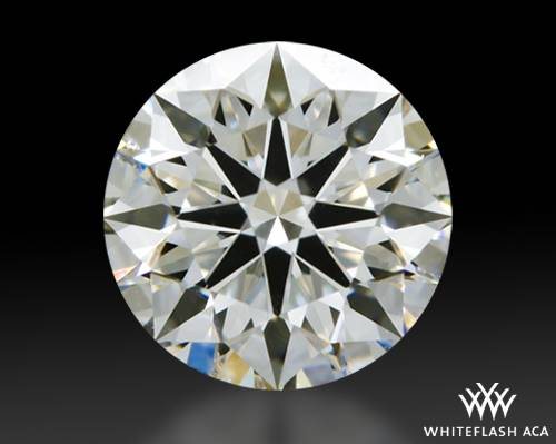 0.825 ct I VS1 A CUT ABOVE® Hearts and Arrows Super Ideal Round Cut Loose Diamond