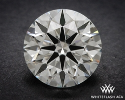 0.827 ct I VS1 A CUT ABOVE® Hearts and Arrows Super Ideal Round Cut Loose Diamond