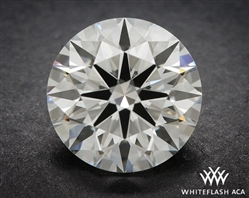 0.838 ct I VS1 A CUT ABOVE® Hearts and Arrows Super Ideal Round Cut Loose Diamond