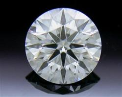 0.407 ct E SI1 A CUT ABOVE® Hearts and Arrows Super Ideal Round Cut Loose Diamond