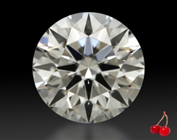 0.423 ct H SI1 Expert Selection Round Cut Loose Diamond