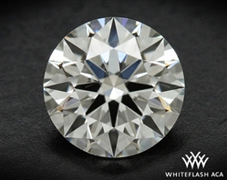 0.553 ct G SI1 A CUT ABOVE® Hearts and Arrows Super Ideal Round Cut Loose Diamond