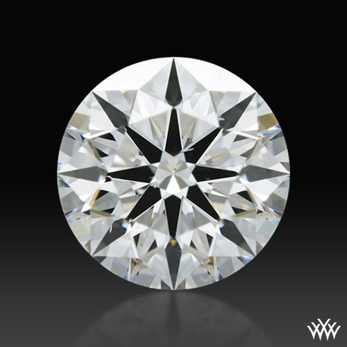 0.643 ct G SI1 A CUT ABOVE® Hearts and Arrows Super Ideal Round Cut Loose Diamond