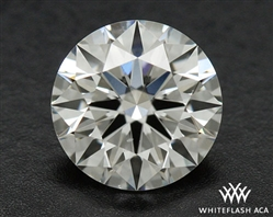 0.536 ct H SI1 A CUT ABOVE® Hearts and Arrows Super Ideal Round Cut Loose Diamond