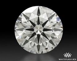 0.898 ct G SI1 A CUT ABOVE® Hearts and Arrows Super Ideal Round Cut Loose Diamond