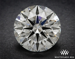 0.94 ct G SI1 A CUT ABOVE® Hearts and Arrows Super Ideal Round Cut Loose Diamond