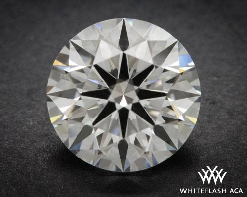 0.90 ct H VS2 A CUT ABOVE® Hearts and Arrows Super Ideal Round Cut Loose Diamond