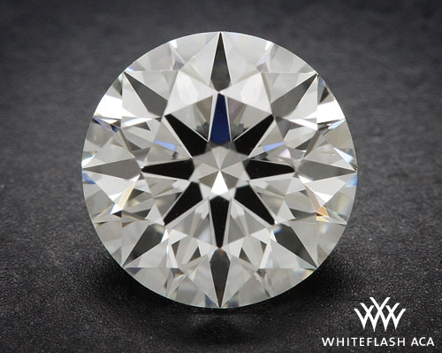 0.913 ct H SI2 A CUT ABOVE® Hearts and Arrows Super Ideal Round Cut Loose Diamond