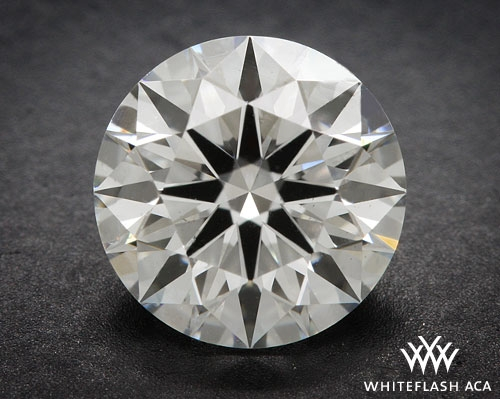0.823 ct I SI1 A CUT ABOVE® Hearts and Arrows Super Ideal Round Cut Loose Diamond