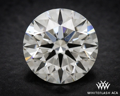 0.795 ct G SI1 A CUT ABOVE® Hearts and Arrows Super Ideal Round Cut Loose Diamond