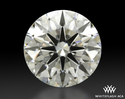 0.911 ct F SI1 A CUT ABOVE® Hearts and Arrows Super Ideal Round Cut Loose Diamond