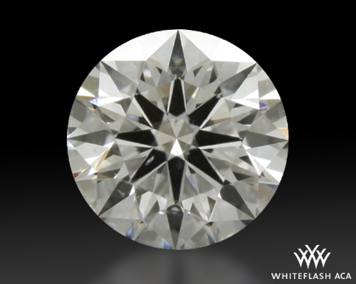 0.417 ct E SI1 A CUT ABOVE® Hearts and Arrows Super Ideal Round Cut Loose Diamond