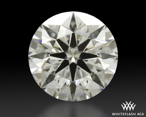 0.81 ct E SI1 A CUT ABOVE® Hearts and Arrows Super Ideal Round Cut Loose Diamond