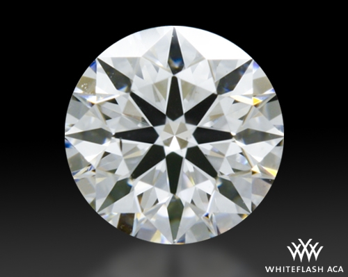 0.508 ct D SI1 A CUT ABOVE® Hearts and Arrows Super Ideal Round Cut Loose Diamond