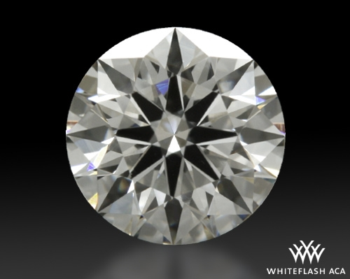 0.524 ct H VS1 A CUT ABOVE® Hearts and Arrows Super Ideal Round Cut Loose Diamond