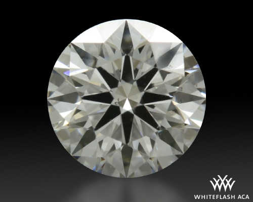 0.556 ct F VS2 A CUT ABOVE® Hearts and Arrows Super Ideal Round Cut Loose Diamond