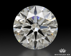 0.851 ct G VS1 A CUT ABOVE® Hearts and Arrows Super Ideal Round Cut Loose Diamond