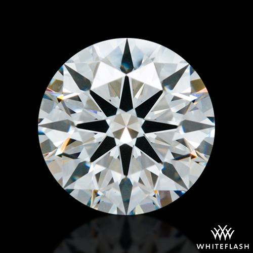 0.854 ct E VS1 A CUT ABOVE® Hearts and Arrows Super Ideal Round Cut Loose Diamond