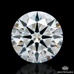 0.854 ct E VS1 A CUT ABOVE® Hearts and Arrows Super Ideal Round Cut Loose Diamond