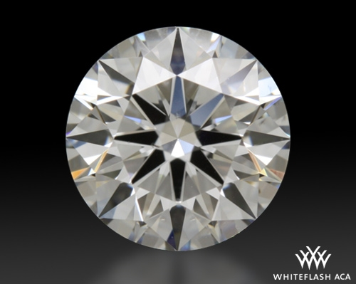 0.823 ct H SI1 A CUT ABOVE® Hearts and Arrows Super Ideal Round Cut Loose Diamond