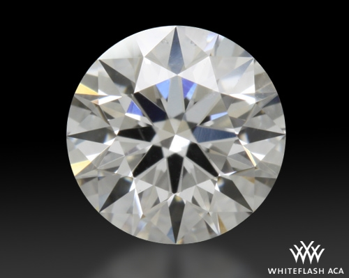 0.444 ct F VS2 A CUT ABOVE® Hearts and Arrows Super Ideal Round Cut Loose Diamond