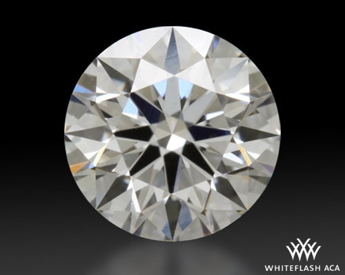 0.526 ct F VS2 A CUT ABOVE® Hearts and Arrows Super Ideal Round Cut Loose Diamond