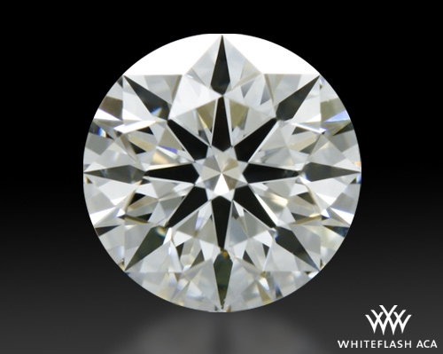 0.585 ct G VS2 A CUT ABOVE® Hearts and Arrows Super Ideal Round Cut Loose Diamond
