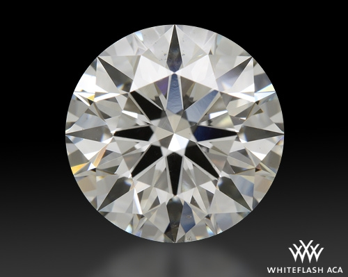 2.417 ct H VS2 A CUT ABOVE® Hearts and Arrows Super Ideal Round Cut Loose Diamond