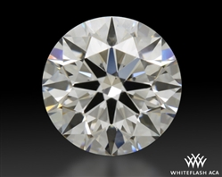 0.901 ct F VS2 A CUT ABOVE® Hearts and Arrows Super Ideal Round Cut Loose Diamond