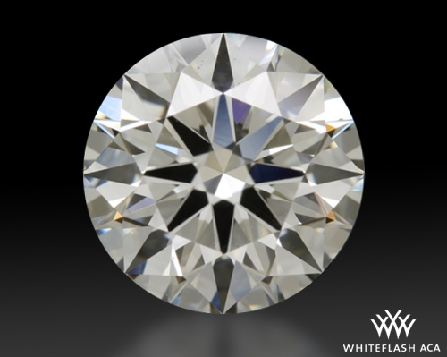 1.606 ct J VS2 A CUT ABOVE® Hearts and Arrows Super Ideal Round Cut Loose Diamond