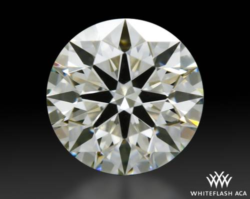 0.407 ct J VS1 A CUT ABOVE® Hearts and Arrows Super Ideal Round Cut Loose Diamond