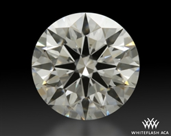 0.714 ct G SI1 A CUT ABOVE® Hearts and Arrows Super Ideal Round Cut Loose Diamond