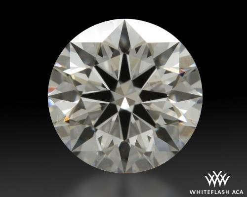 0.822 ct F VS2 A CUT ABOVE® Hearts and Arrows Super Ideal Round Cut Loose Diamond