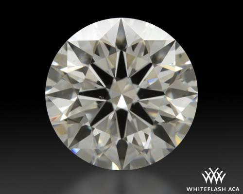 0.824 ct D SI1 A CUT ABOVE® Hearts and Arrows Super Ideal Round Cut Loose Diamond